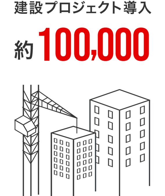 建設プロジェクト導入 約100,000