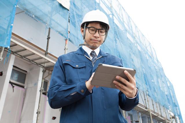 工事写真アプリの利用イメージ